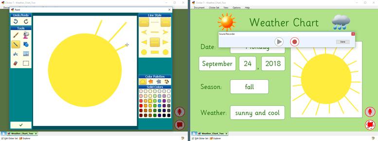 Classroom activities in Clicker