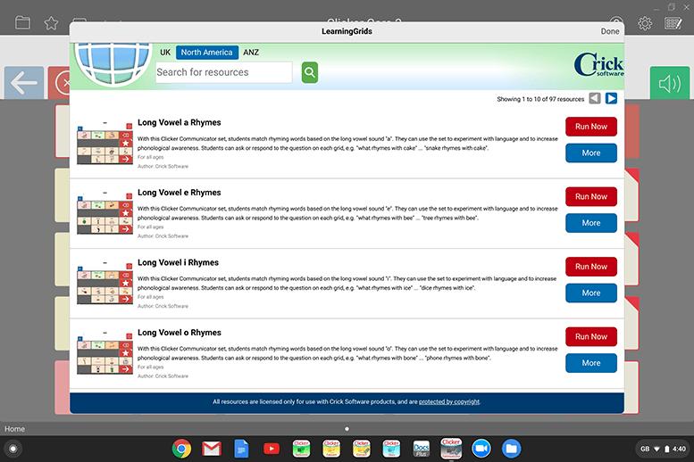 Communicator4Chrome - LearningGrids
