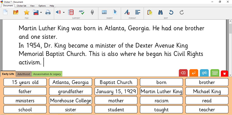 Martin Luther King - biography