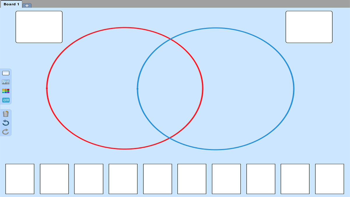Venn Diagrams template