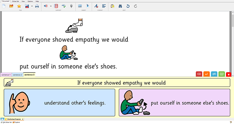 Mentoring Program - empathy