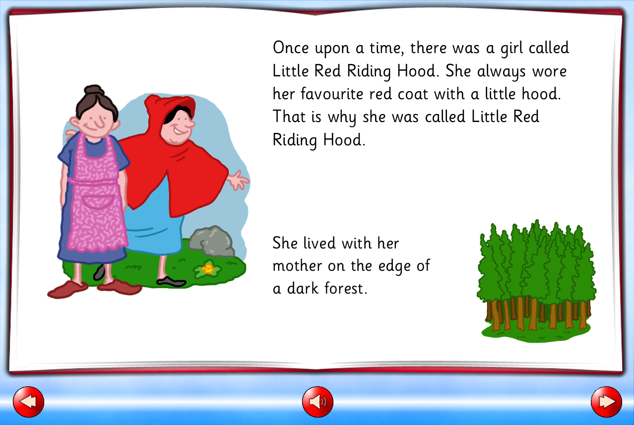 03 Little red riding hood story